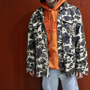 "80s Duck bay M65 field jacket ""duck camo"""