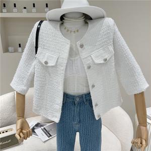 simple ホワイトジャケット c3256