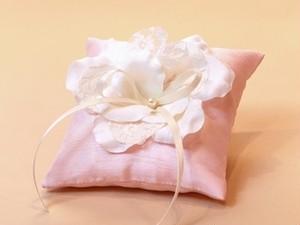 リングピロゥ 「フラワー」 ピンク