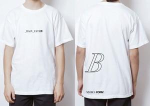 0624 VS IIICS FORM ガーメントダイTシャツ(White/M)