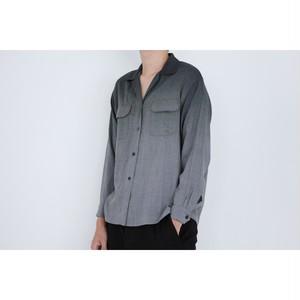 KENZO gradation open collar shirts