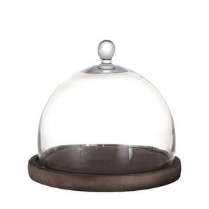 【SG794WS】Grass dome mirroirs M #ガラスドーム #シンプル #ナチュラル