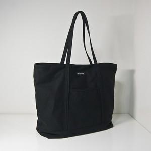 キャンバストートバッグ M 黒 WKA CANVAS TOTE BAG M 36×48×17cm black FA-564