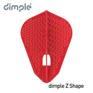L-Flight PRO dimple L9d [Z Shape] Red