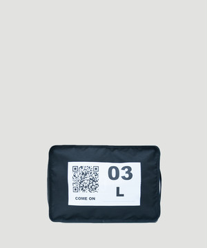 LORINZA No.3 Travel Pouch(QR) LO-STN-PC03 Black