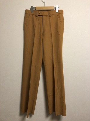 late70's〜early80's mustard color slacks