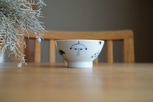 砥部焼/くらわんか茶碗(小)/傘/森陶房kaori