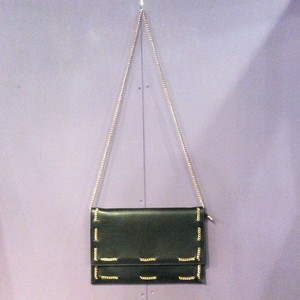 black chain design shoulder bag [B1383]