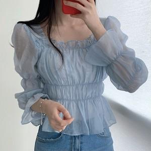 シアーバブルシャツ L00126