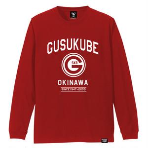 GUSUKUBE TOWN LONG SLEEVE TEE