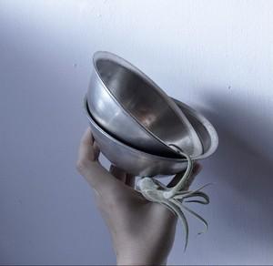 【アルミ椀】 アルミ食器  学校給食用 昭和レトロ ダメージあり