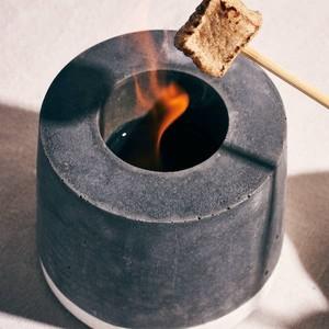 お家でミニキャンプ マシュマロも焼ける 小型ストーブ、ファイヤープレイス