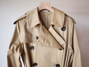 『LENO』Big Trench Coat / Beige