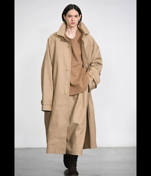 HED MAYNER - TRENCH COAT - AW20_O705_CML - CAMEL