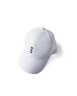帽子3号 「逆鱗(げきりん)」 白