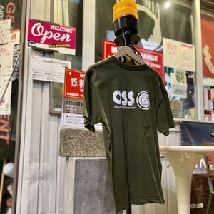 OSS 半袖【バック+フロントプリント】Tシャツ100%コットン
