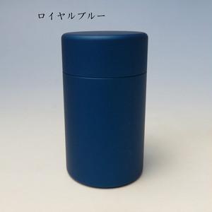 ミニ骨壷With(ウィズ)35 直径35mm×高60mm ローヤルブルー【日本製】