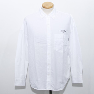 """LOVE & HATE"" BD WIDE SHIRT (WHITE)"
