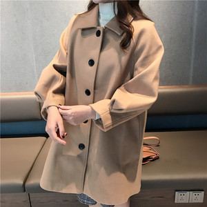 〈カフェシリーズ〉あったかウールショートコート【hot wool short coat】
