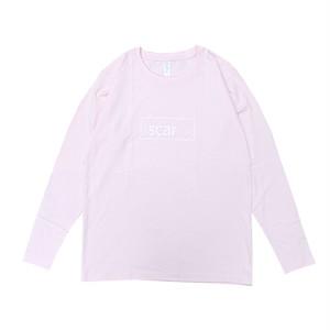 scar /////// OG L/S TEE (Light Pink) 5.3oz