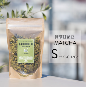 抹茶甘納豆グラノーラ Sサイズ(120g)