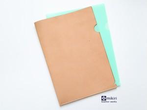 ◆期間限定刻印無料◆クリアじゃないクリアファイル ナチュラル A4サイズ