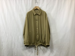 """WHOWHAT""""RAYON COACH JACKET BEIGE"""""""