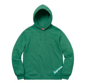 Supreme Corner Label Hooded Sweatshirt