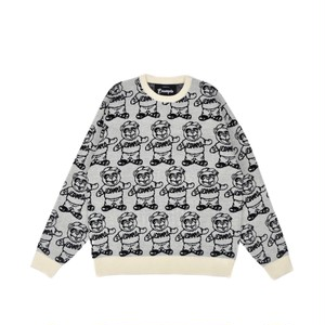 EXAMPLE x BB BEAR SWEATER / WHITE
