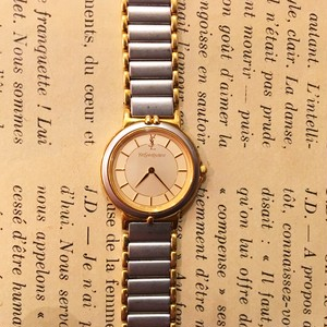 YSL stainless watch