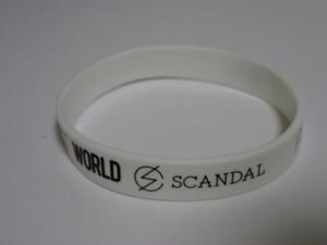 SCANDAL ラバーバンド ラババン │ アーティストグッズ販売買取 hfitz.com