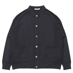 Akebono Collar Cardigan BLACK【YASHIKI】