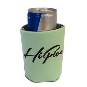 Hi FIVE クージー (缶 ボトルホルダー)  Koozie サラダグリーン