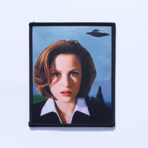 """Metadope""""BELIEVE SCULLY PATCH"""""""