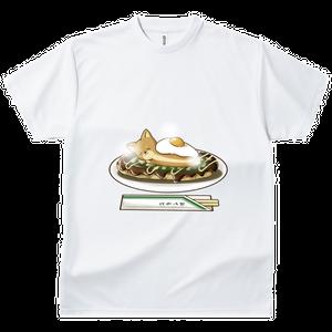 【食べたいもの】柴犬とお好み焼き ドライTシャツ お見舞いギフト