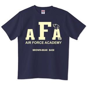 AIR FORCEアカデミーTシャツ <ネイビー> ※大きめ