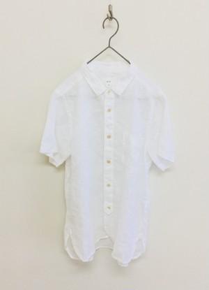 20%OFF【prit】21/1フレンチリネンレギュラーカラーシャツ / 82862