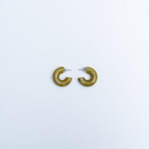 [送料無料]small circle acrylic piercing