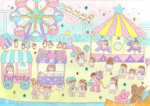 【ポストカード】星のゆうえんち