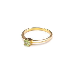 SINGLE PETIT STONE NON-ADJUSTABLE RING 086