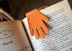 手形のブックマーク