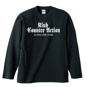 KLUB COUNTER ACITON OFFICIAL LONG SLEEVE : 1(黒ボディー)