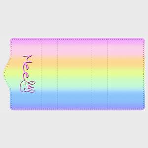 ユニコーンラビット・キーケース ユニコーンカラーの美しい4連キーケース・カードケースにも