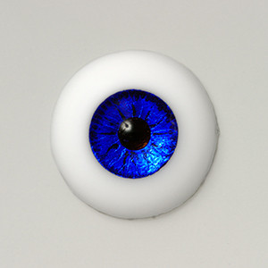 Silicone eye - 13mm Metallic Cobalt