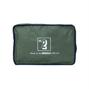 No.2 Travel Pouch (Print) Khaki LO-STN-PC02