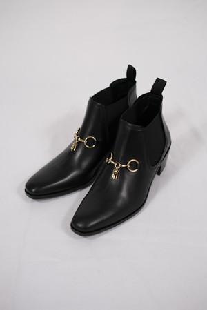 【Needles】heeled chelsea bit boot