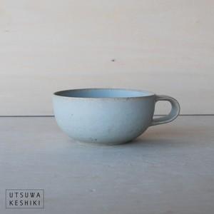 【寺嶋 綾子】スープカップ(水色)