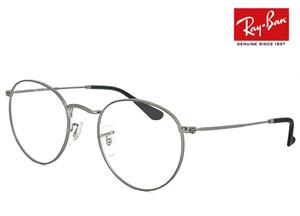 レイバン 眼鏡 rx3447v 2620 50mm メガネ Ray-Ban ラウンド 型 丸メガネ フレーム Round Metal メンズ レディース RX 3447 V rb3447v