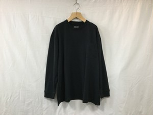 "UNIVERSAL  PRODUCTS."" HEAVY WEIGHT L/S TEE BLACK"""