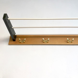 Bi-Color Vintage Coat Rack 60-70's 西ドイツ